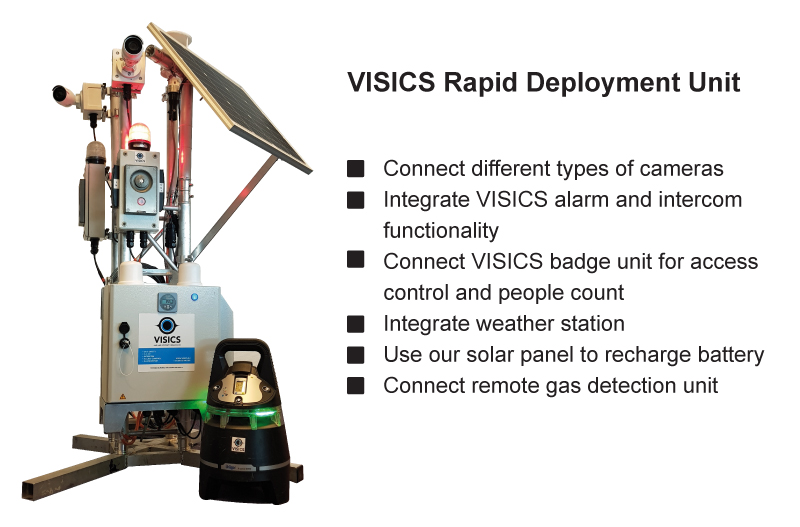 New: Digital Monitoring To Go with the VISICS RDU